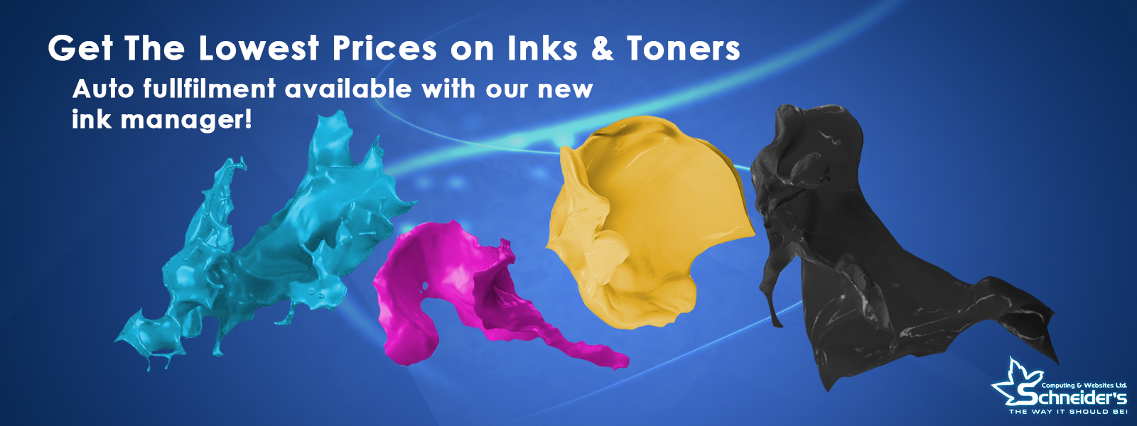 Website Banner ink
