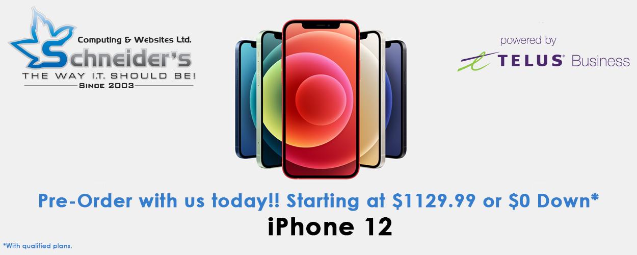 iphone 12 pre-order
