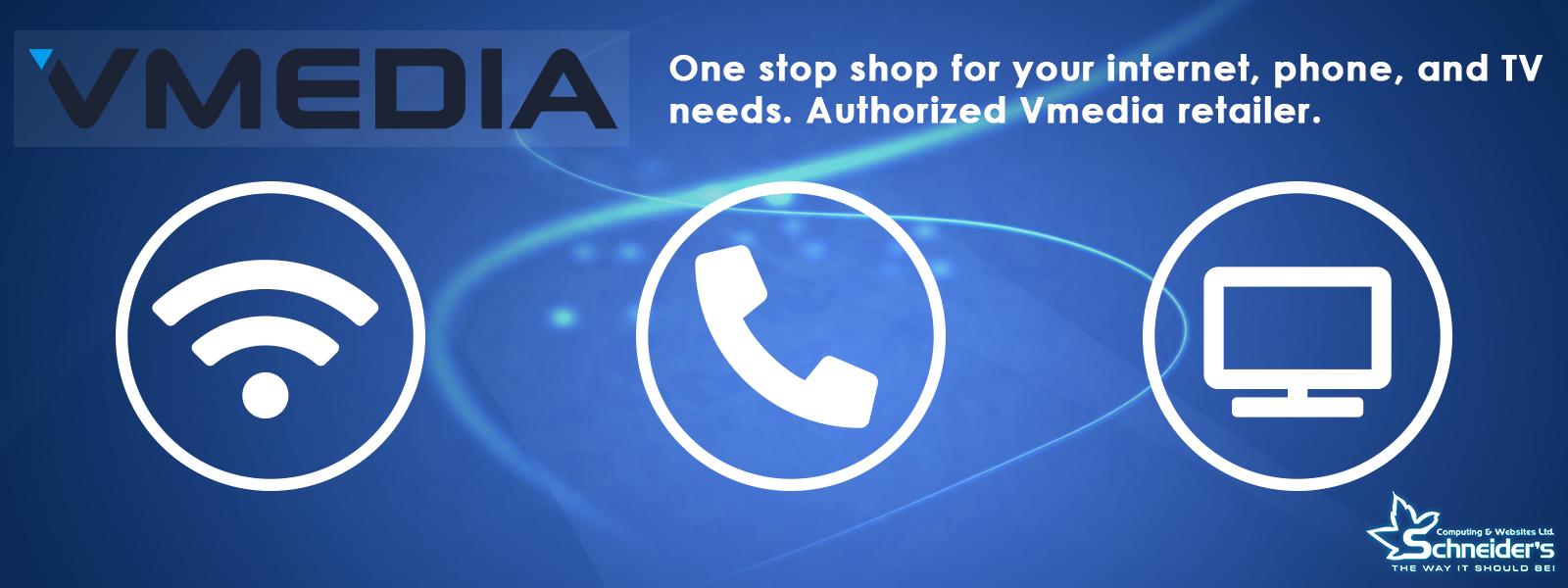 Website Banner Vmedia