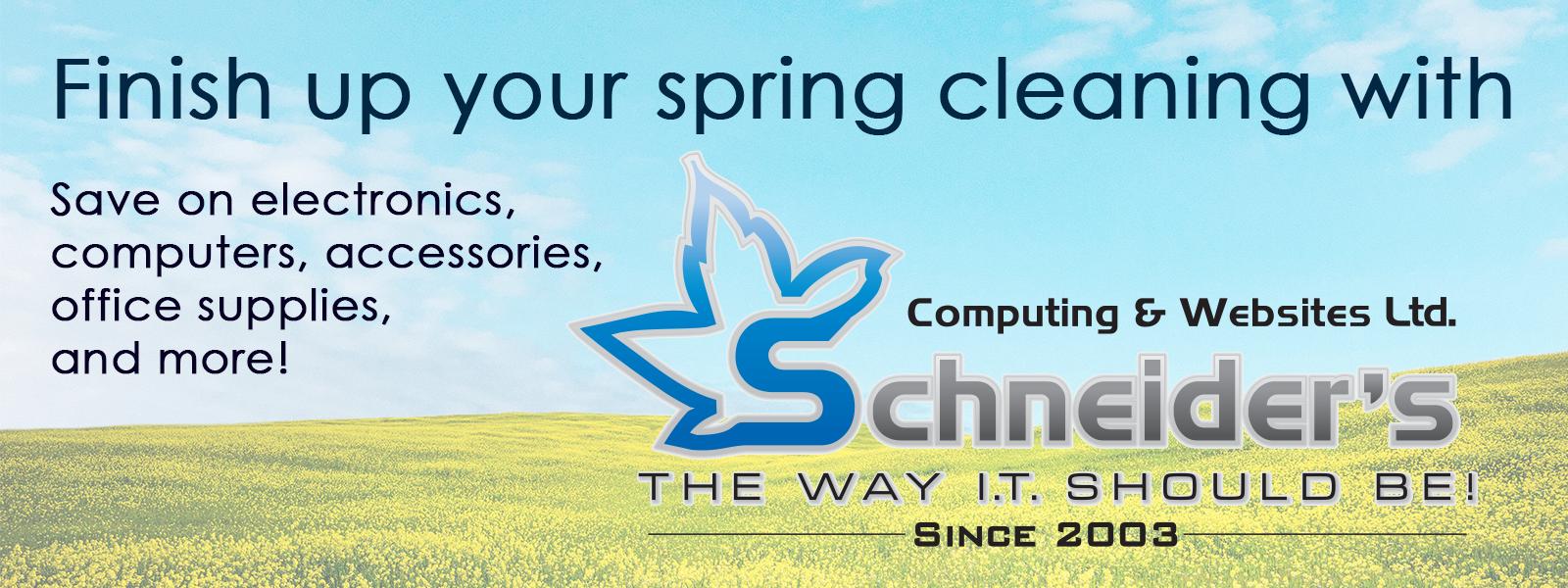 Spring Flyer Header Image